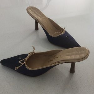 CHANEL mules size 37.5